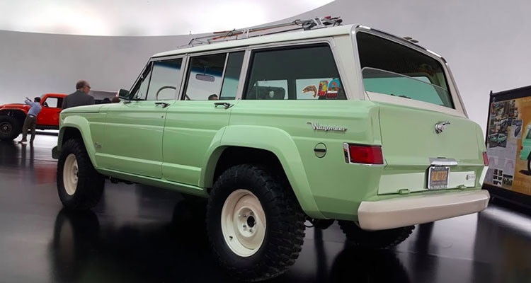 jeep wrangler wagoneer concept rear
