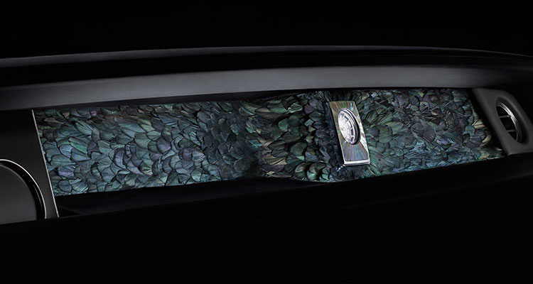 rolls-royce- phantom nature squared iridescent