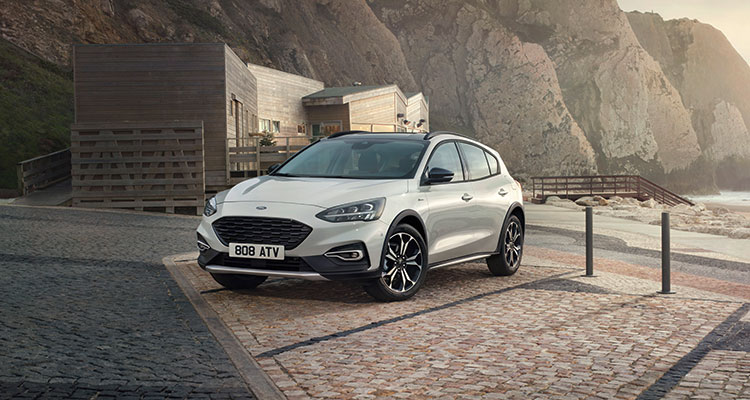 2018 Ford Focus Front Grey