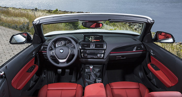 BMW 2 Convertible interior