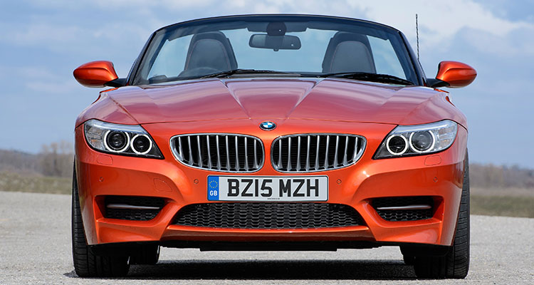 BMW Z4 Convetible- front
