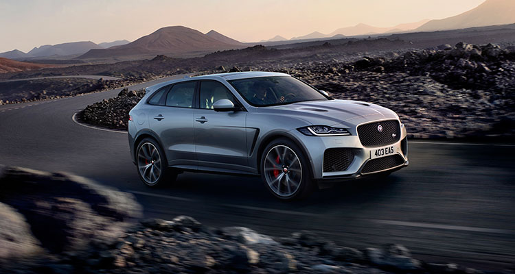 Jaguar F pace Front side 1