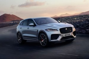 Jaguar F pace front side 2 feature
