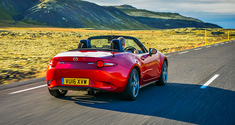 Maxda MX-5 Convertible rear