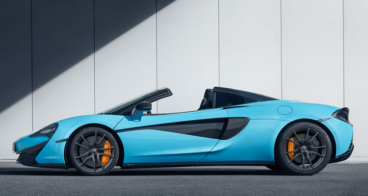 McLaren 720s Spider Track Pack side
