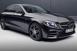 Mercedes AMG E 53 4Matic+ Saloon Front Side 1