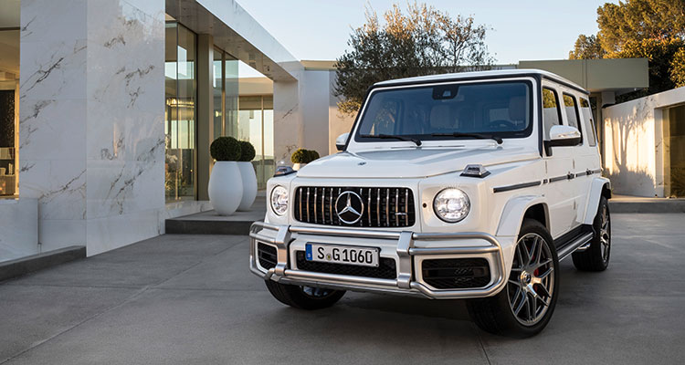 Mercedes G63 front