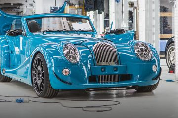 Morgan Areo GT Front Feature