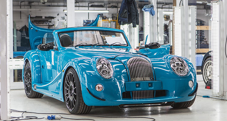 Morgan Areo GT Front
