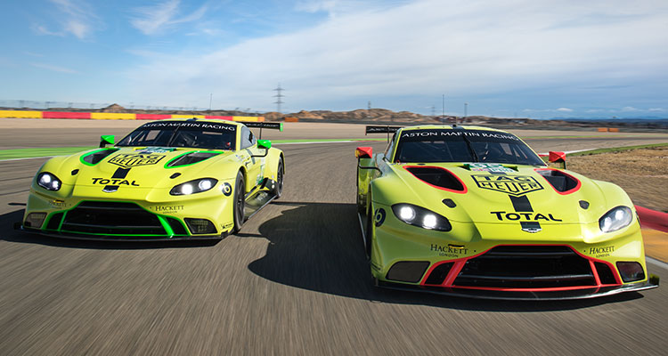 Aston Martin Vantage GTE double team