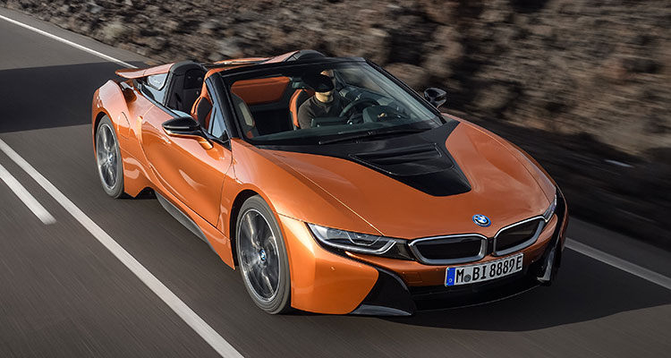 BMW i8 Convertible Front side