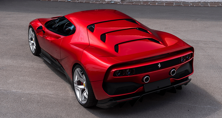 Ferrari SP38 rear side