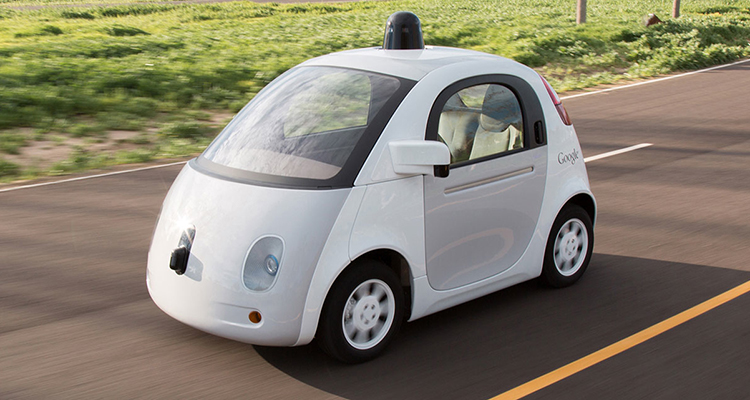 Googles Self driving car 1