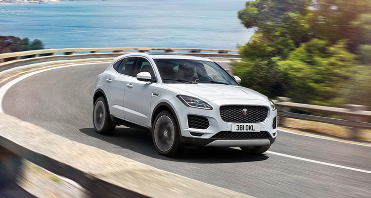 Jaguar E-Pace front side 4