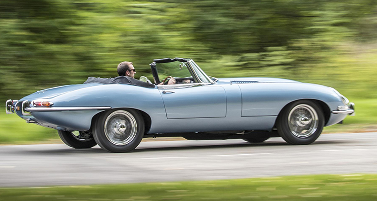 Jaguar E-Type Concept Zero side 1