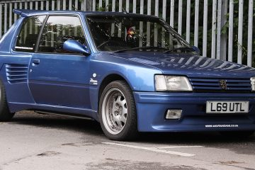 Peugeot 205 GTi Dimma body feature