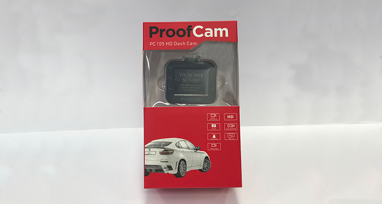 ProofCam PC 105 Packaging