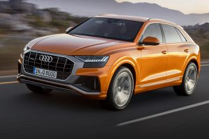 Audi Q8 front side feature