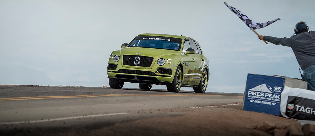 Bentley Bentayga feature