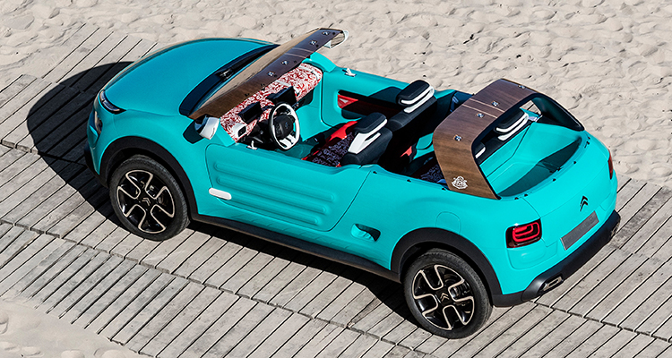 Citroen Cactus M Concept Car Beach Motor-Vision Best Car for a Festival