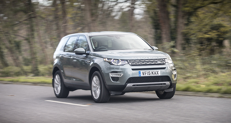 Discovery Sport Black LE Front View Motor-Vision Best Car for a Festival