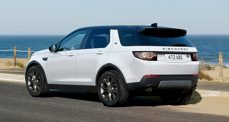 Land Rover Discovery Sport Landmark Edition side rear 1