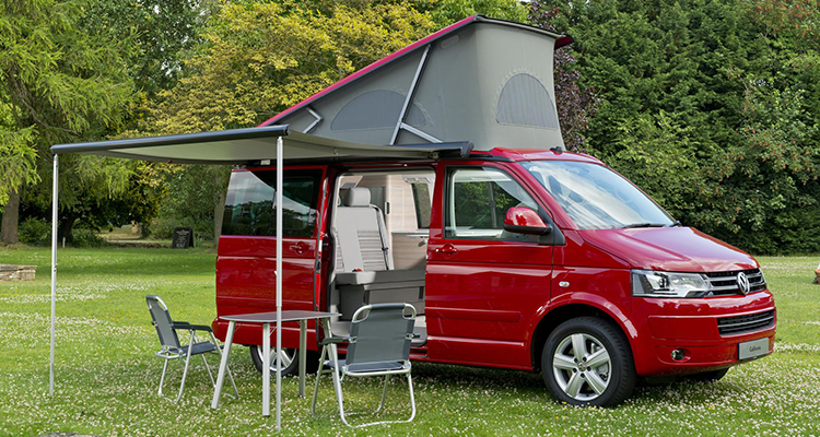 Volkswagen California Camping Motor-Vision Best Car for a Festival