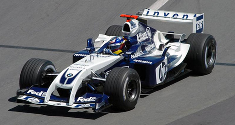 2004 V10 Williams-BMW FW26 F1 7