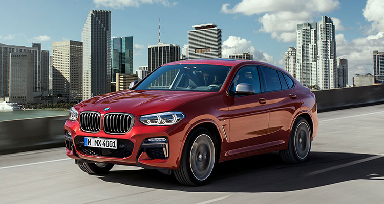 BMW X4 front side 4