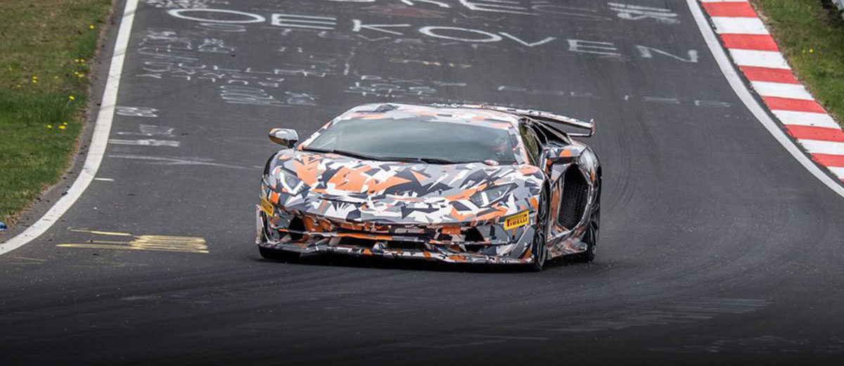 Lamborghini Aventador SVJ Breaks Nurburgring Lap Record feature
