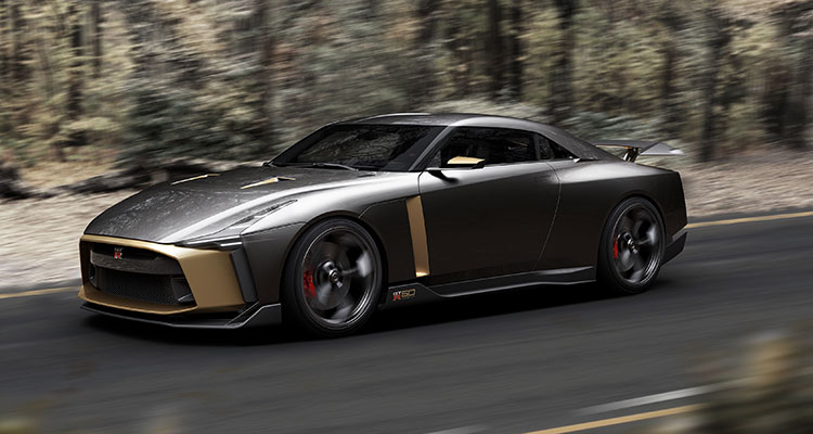 Nissan GT-R50 by Italdesign - CG Photo 10