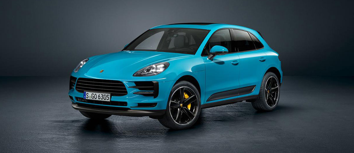 Porsche Macan revealed feature