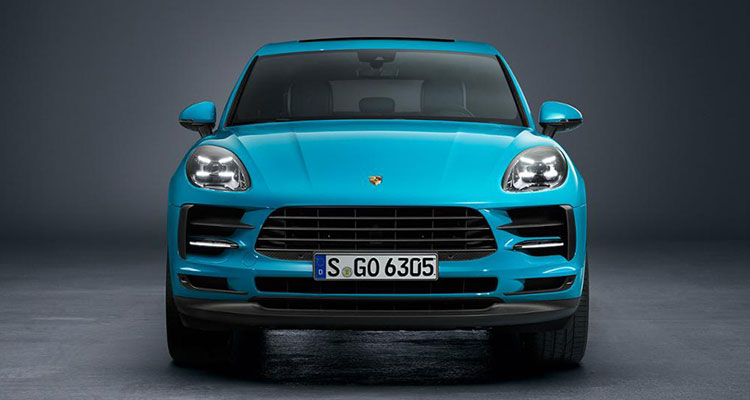 Porsche Macan revealed front