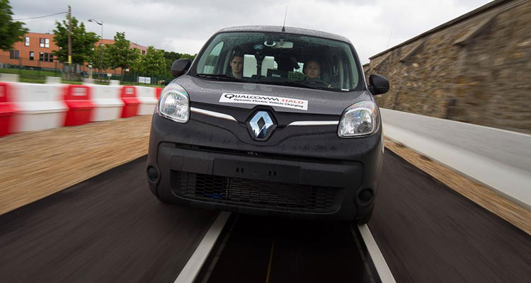 qualcomm 100 metre charging road test