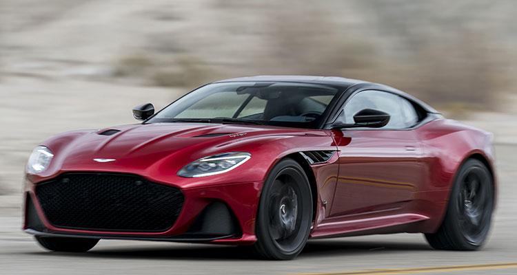Aston Martin DBS Superleggera 2018 reviews 8
