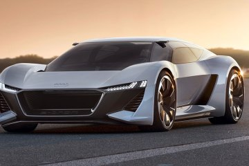 Audi E-tron Sunset