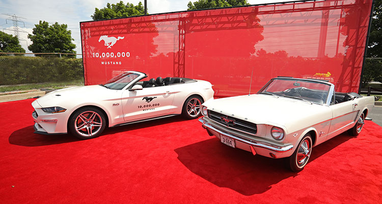 Ford Mustang production hits ten million 1