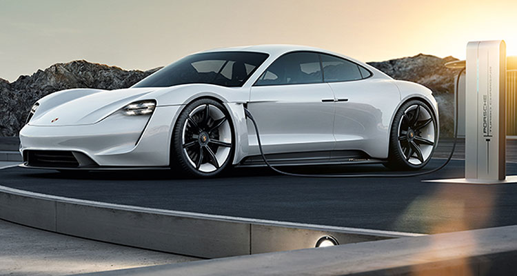 The All New Electric Porsche Taycan 1