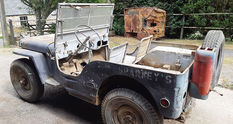barn find 1943 wilys jeep 8