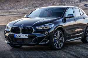BMW X2 M35i exterior front side 2 feature