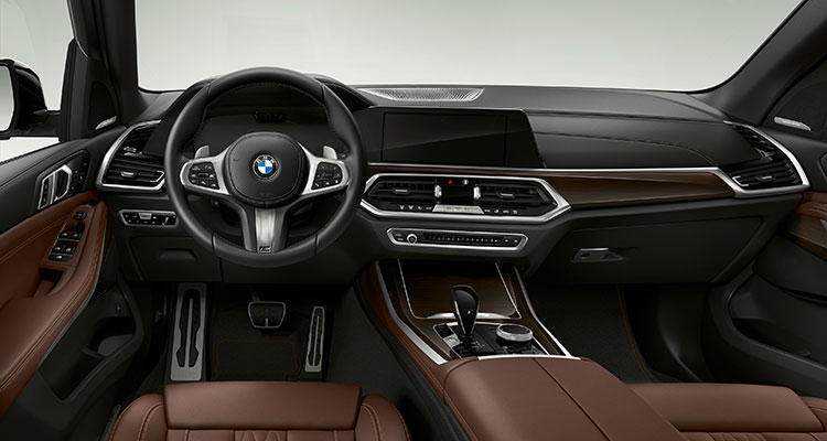 BMW X5 xDrive45e iPerformance interior 1