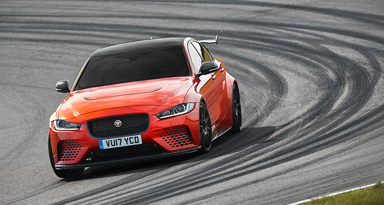 JAGUAR XE SV PROJECT 8 front side 3