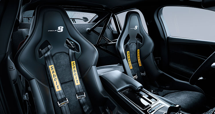 JAGUAR XE SV PROJECT 8 interior 1