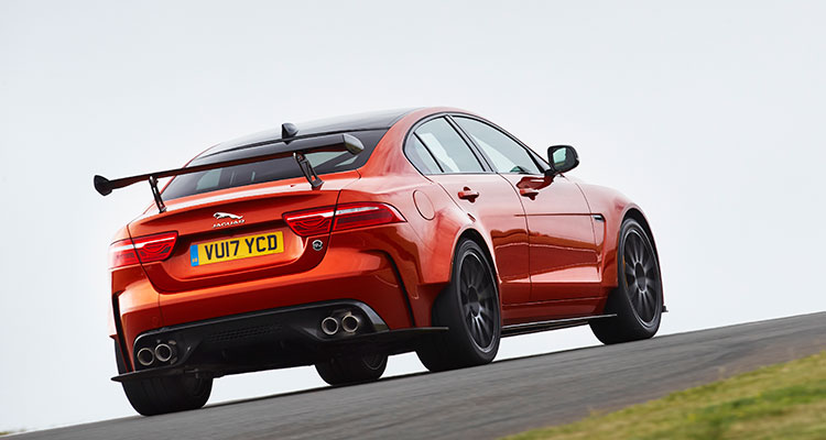 JAGUAR XE SV PROJECT 8 rear side 1
