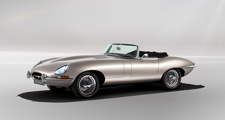 Jaguar E-Type EV 1