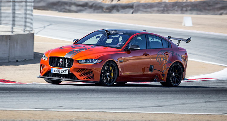 Jaguar XE SV Project 8 front side 1