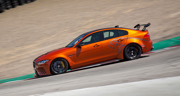 Jaguar XE SV Project 8 side 1