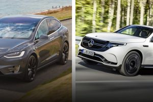Mercedes EQC Better Than Tesla's Model X feature