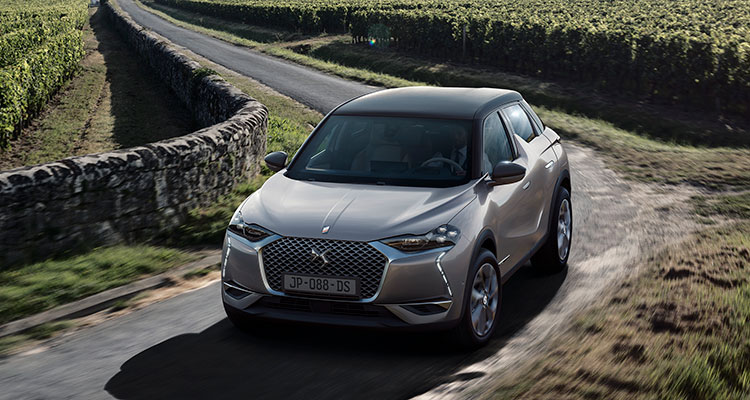New Citeron DS3 Crossback 2019 front side
