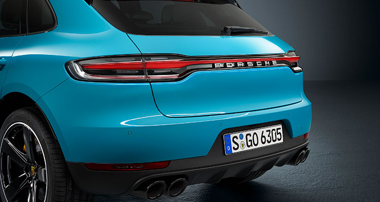 Porsche Macan facelift back